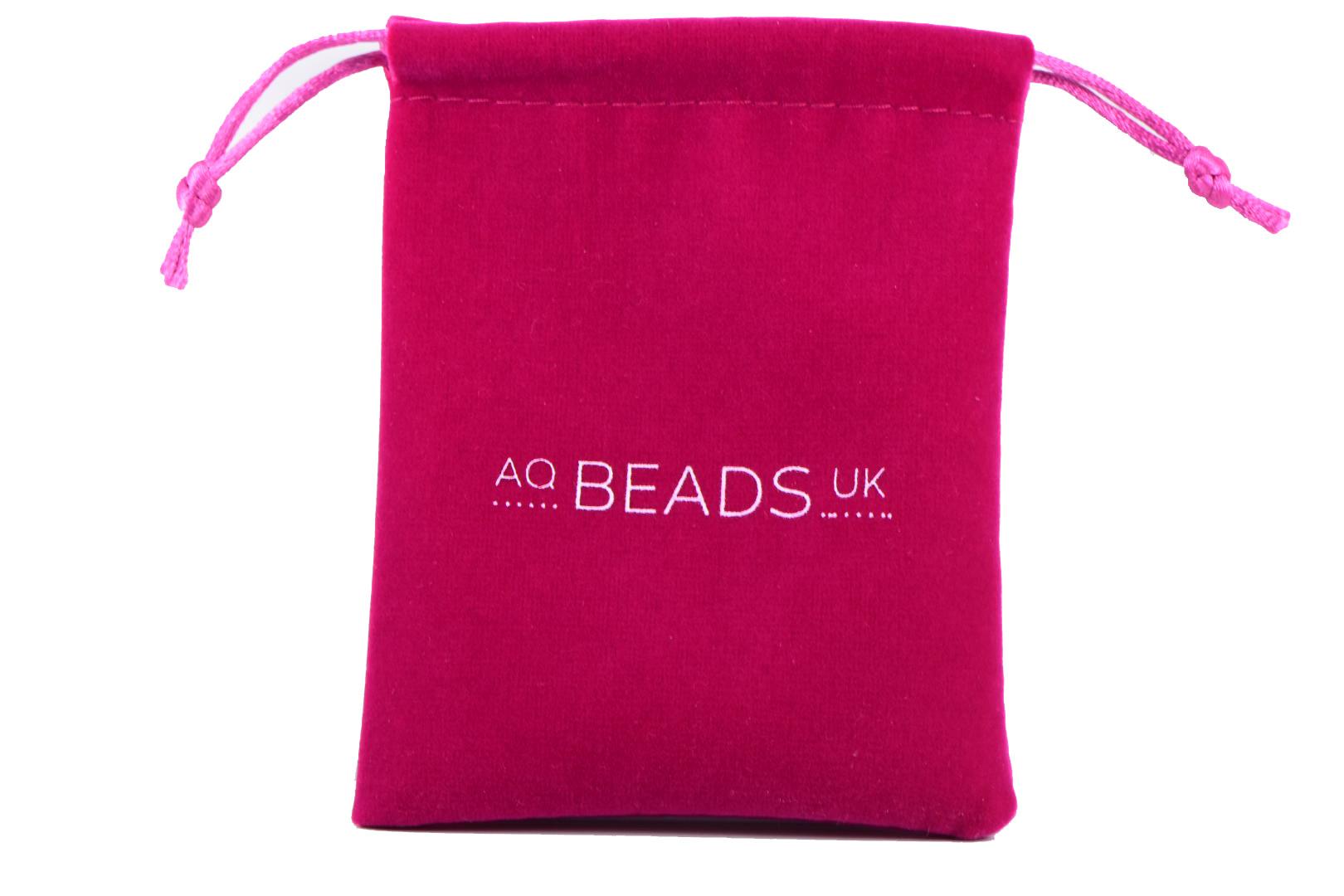 AqBeadsUk Classic Semi-Precious 8mm Gemstone Dark Orange,Pink Jade Faceted Round Beads 19 inch Luxury Handmade Women's Necklace