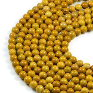 Semi-Precious Natural Moonkite Jasper 8mm Round Gemstone Jewellery Making Beads On 15.5 Inch Strand