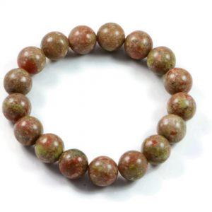 "Semi-Precious Gemstone 10mm Multicolour Agate Beads 6.75"" Stretch Bracelet on Elastic Cord"
